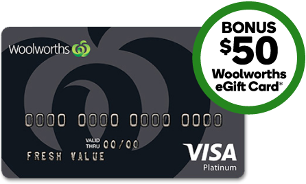 Murphy Visa Card >> Everyday Platinum Credit Card Woolworths Credit Cards